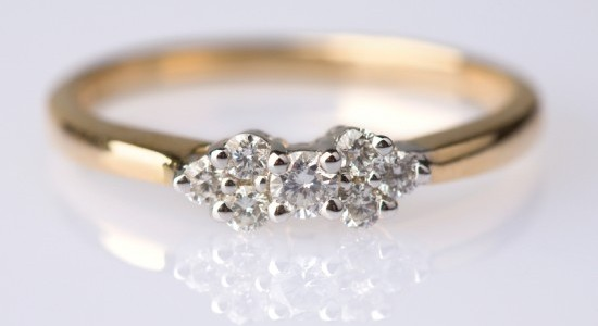 Vintage engagement ring settings
